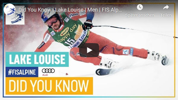 Fakten zum FIS Alpine Event in Lake Louise