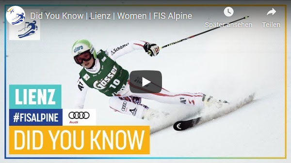 """Did you know"" – FIS Alpine – Lienz 2019"