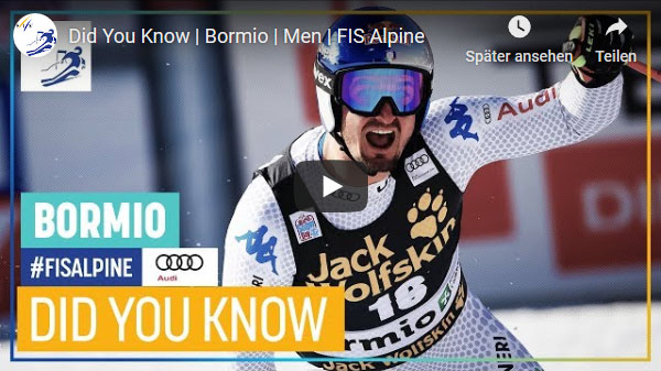 """Did you know"" – Herren – Bormio 2019"