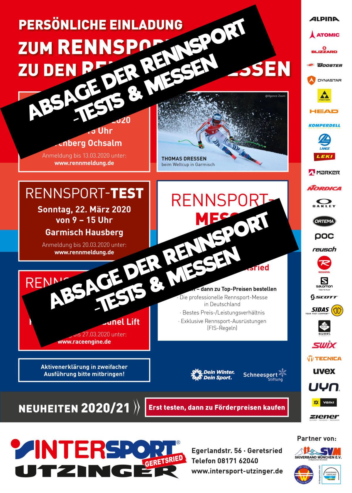 Rennsport Tests & Messen
