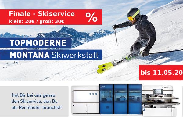Sonderangebot: Skiservice