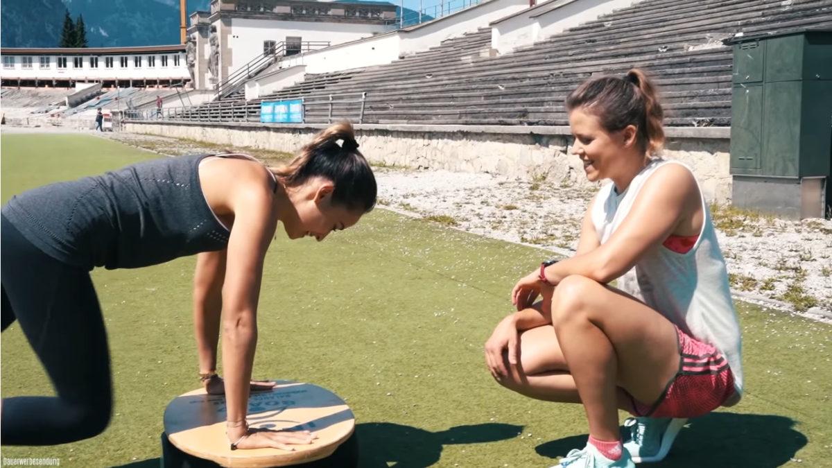 Ski Workout mit Viktoria Rebensburg