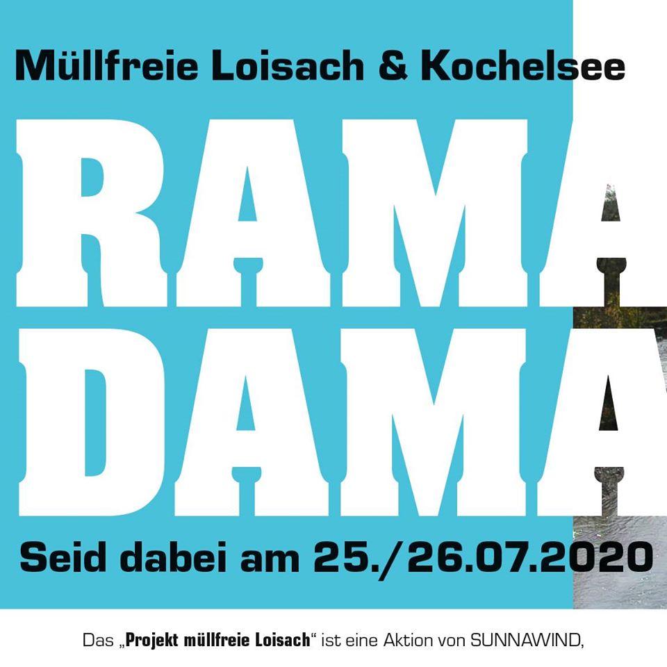 sunnawind: Ramadama an der Loisach