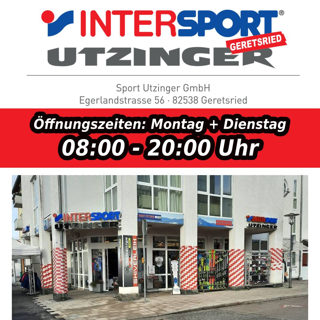 Mo + Dienstag von 08:00 – 20:00 Uhr geöffnet